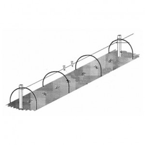Two-Sheet Wire Tunnel Hoops