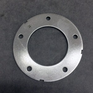 Stamped Metal Ring with Punched Holes